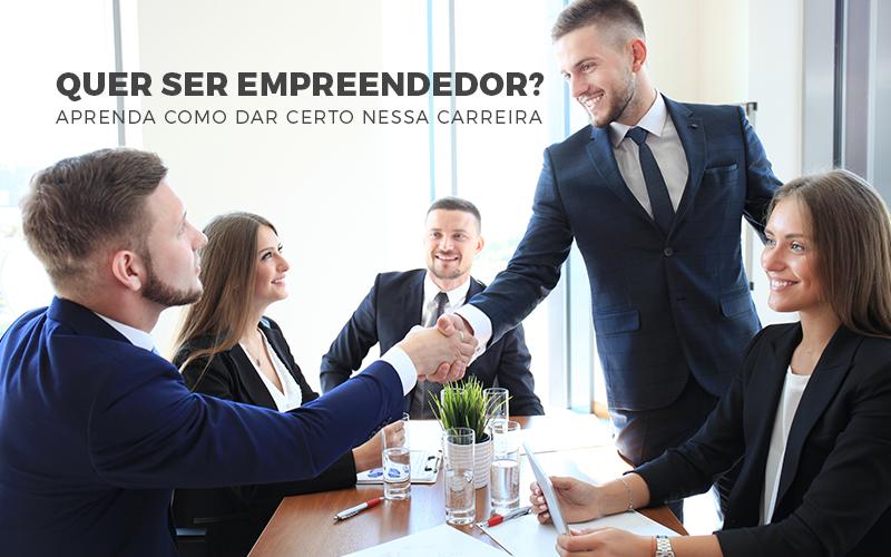 Quer ser empreendedor