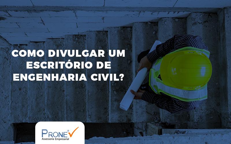 divulgar um escritório de engenharia civil